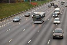 autobusowi samochody zdjęcia royalty free