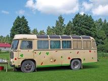 autobusowy camping Zdjęcie Royalty Free