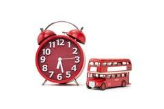 Autobusowy czas Zdjęcia Stock