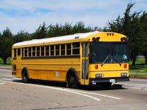 autobusowy kolor żółty Zdjęcie Royalty Free