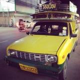 autobusowy kolor żółty Fotografia Royalty Free