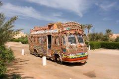 autobusowy kolorowy Obraz Stock