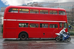 autobusowy London Obraz Royalty Free