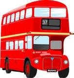 autobusowy London Zdjęcie Stock