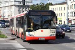 autobusowy miasto Fotografia Stock