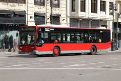 autobusowy miasto Zdjęcia Royalty Free
