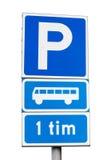 Autobusowy miejsce do parkowania Zdjęcie Royalty Free