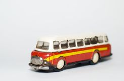 autobusowy model Obrazy Royalty Free
