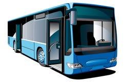 autobusowy nowożytny royalty ilustracja