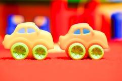autobusowy samochodów taxi zabawki kolor żółty Zdjęcie Stock