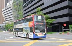 Autobusowy transport publiczny Kuala Lumpur Malezja fotografia stock