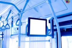 autobusowy wnętrze Obraz Royalty Free
