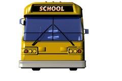 autobusskola stock illustrationer