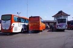 Autobusstation Stockbilder