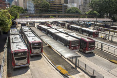 Autobusstation Lizenzfreie Stockbilder
