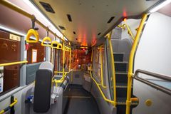 Autobusu piętrowego autobus w Hong Kong obrazy stock