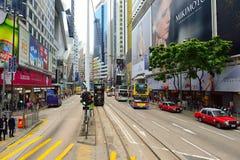 Autobusu piętrowego tramwaj fotografia royalty free
