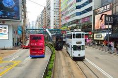Autobusu piętrowego tramwaj obrazy stock