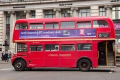 Autobusu piętrowego autobus Fotografia Royalty Free