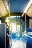Autobusu piętrowego autobus w Anglia, Zlany królestwo Obraz Stock