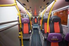 Autobusu piętrowego autobus w Hong Kong Fotografia Stock