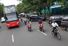 Autobusu piętrowego autobusu wycieczka turysyczna Fotografia Royalty Free