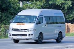 Autobusu szkolnego samochód dostawczy Zdjęcia Stock