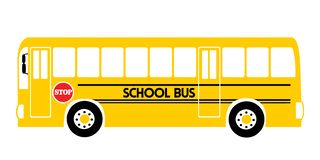 Autobusu szkolnego ? royalty ilustracja