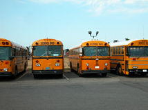 Autobusy szkolni Obraz Royalty Free