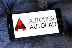 AutoCAD-Programmlogo Lizenzfreie Stockbilder