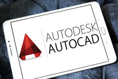 AutoCAD-Programmlogo Stockbild
