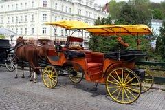 Autocar de cheval Image libre de droits