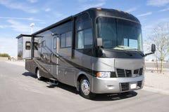 Autocar de luxe neuf du camping-car rv Image stock