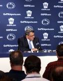 Autocar Joe Paterno d'état de Penn Images libres de droits