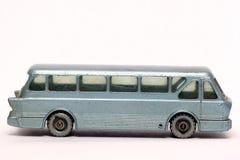 Autocar royal de tigre de Leyland de vieux véhicule de jouet Photographie stock libre de droits