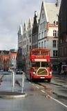 Autocarro de dois andares de Bergen Fotos de Stock