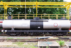 Autocisterna del gas Fotografie Stock