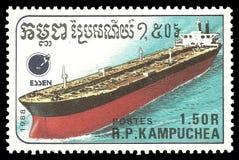 Autocisterna della Cambogia Immagine Stock