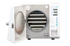 Autoclave, esterilizador usado en odontología fotos de archivo libres de regalías
