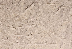 Autoclaved aerated concrete closeup. In sunny day Stock Image
