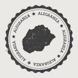 Autocollant d'Alegranza Photographie stock libre de droits