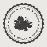 Autocollant de l'Antigua Images libres de droits