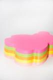 Autocollants collants colorés sous forme d'ours de nounours Photographie stock