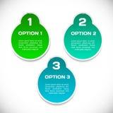 Autocollants d'Infographic réglés. Photos libres de droits