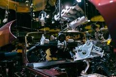 Autocomponenten Stock Afbeelding