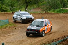 autocross Fotografering för Bildbyråer