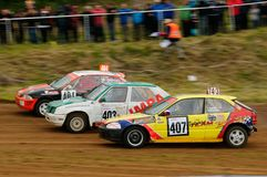 autocross Image stock