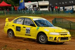 autocross Arkivbild