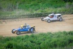 autocross Lizenzfreie Stockfotografie
