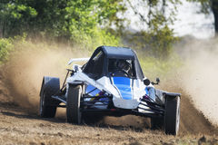 Autocross car off road Royalty Free Stock Photo